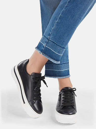 Gabor Comfort - Les sneakers à plateau 100% cuir