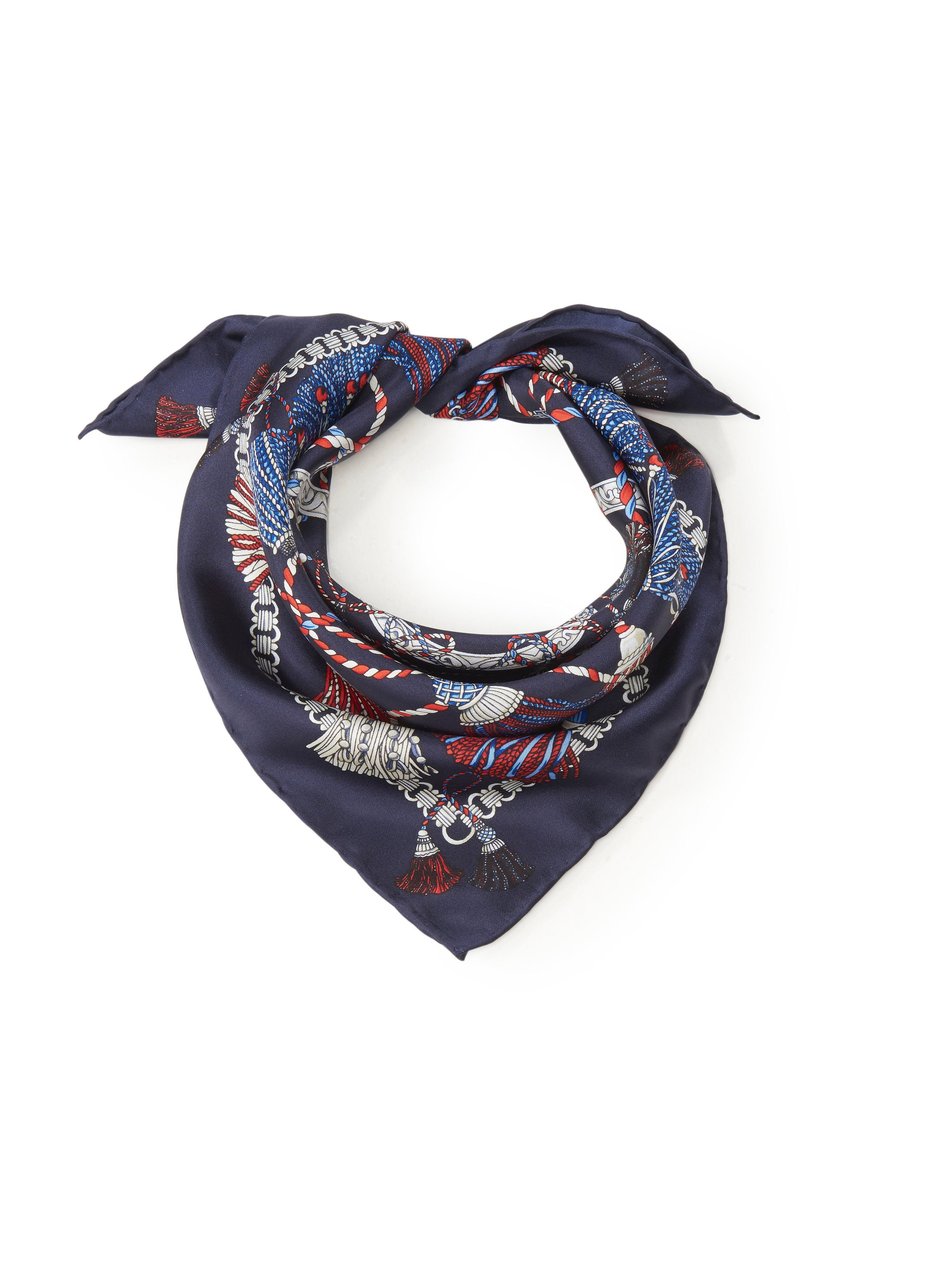 Tørklæde orientalisk flair Fra Roeckl blå