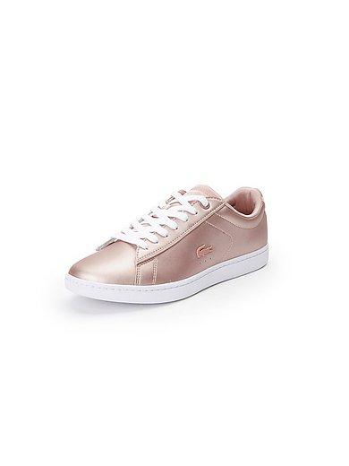 Lacoste - Les sneakers en cuir métallisé, modèle CARNABY EVO