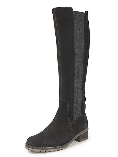 Gabor - Hoge laarzen van rundnubuckleer