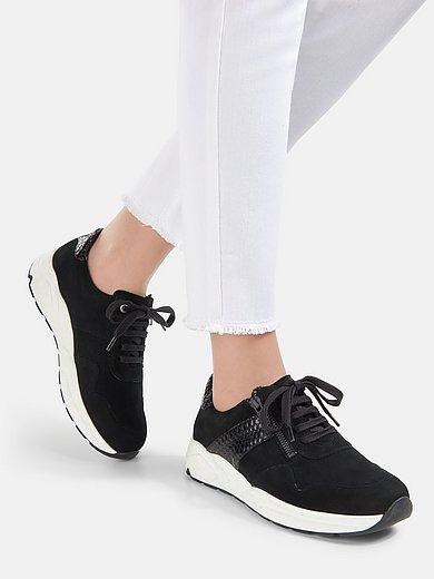 Solidus - Sneakers Kea van elastisch kalfssuèdeleer