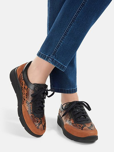 Mobils - Sneakers Ivonia van kalfsnubuckleer