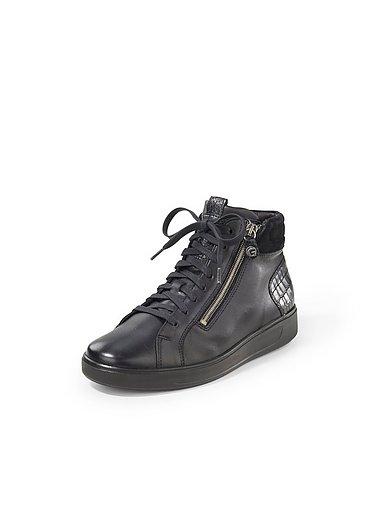 Ganter - Enkelhoge sneakers Heidi van leer