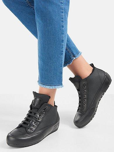 Candice Cooper - Enkelhoge sneakers Mid Mont van kalfsnappaleer