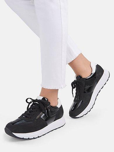 Paul Green - Sneakers van kalfslakleer en geitennubuckleer