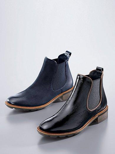 Paul Green - Chelsea-boots van gekreukt kalfslakleer