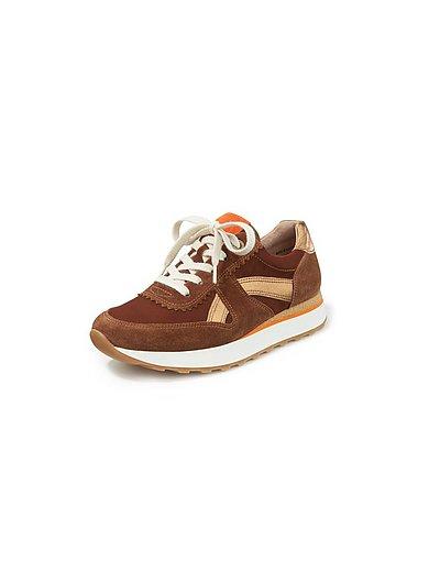 Paul Green - Sneakers van kalfssuèdeleer en nubuckleer