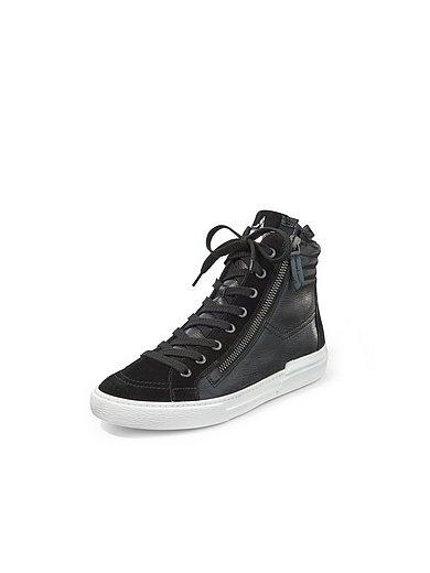 Paul Green - Sneakers van kalfsnappa- met geitensuèdeleer