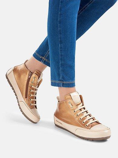 Candice Cooper - Enkelhoge sneakers Mid van kalfsnappaleer