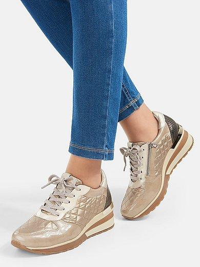 Softwaves - Sneakers Wave me up van kalfslakleer en textiel