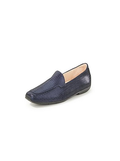 Peter Kaiser Plus - Loafers made of kidskin suede