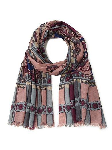Peter Hahn - Sjaal van 100% wol met franje aan de uiteinden
