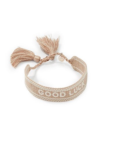 Lua Accessoires - Armband To the moon GOOD LUCK