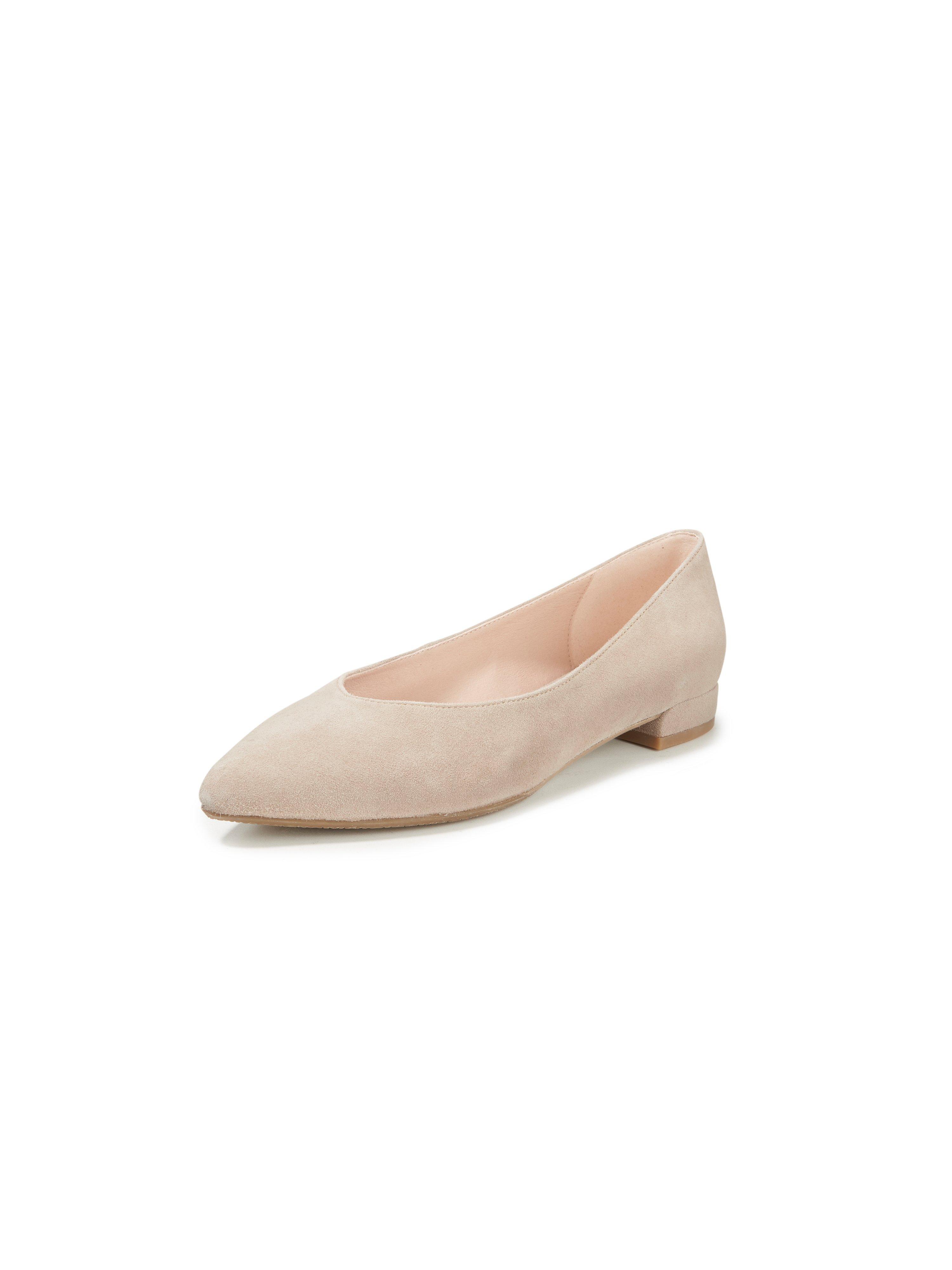 Ballerina's Barcelona geitensuèdeleer Van Gerry Weber beige