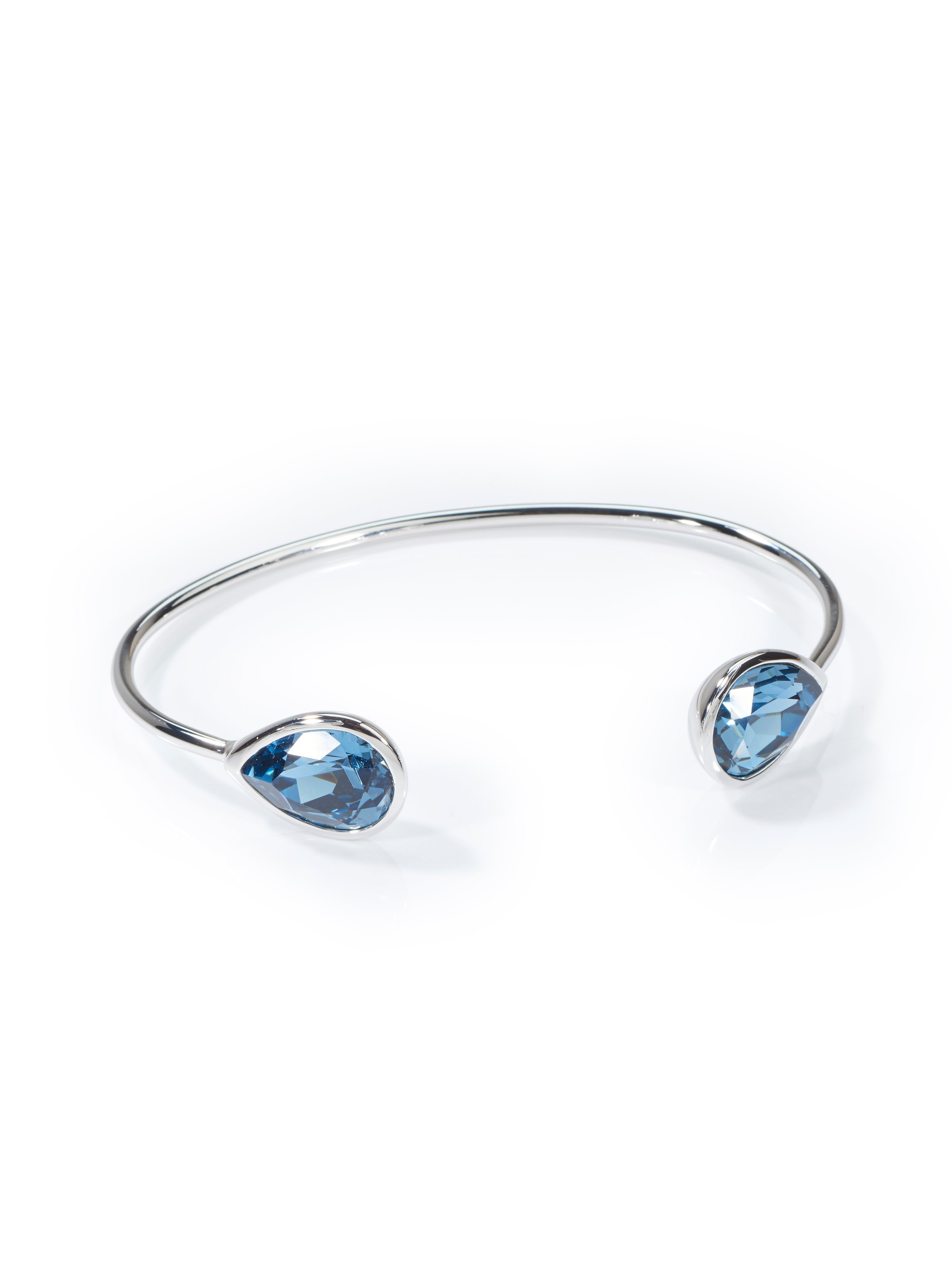 Bangle crystals mayfair by Peter Hahn silver