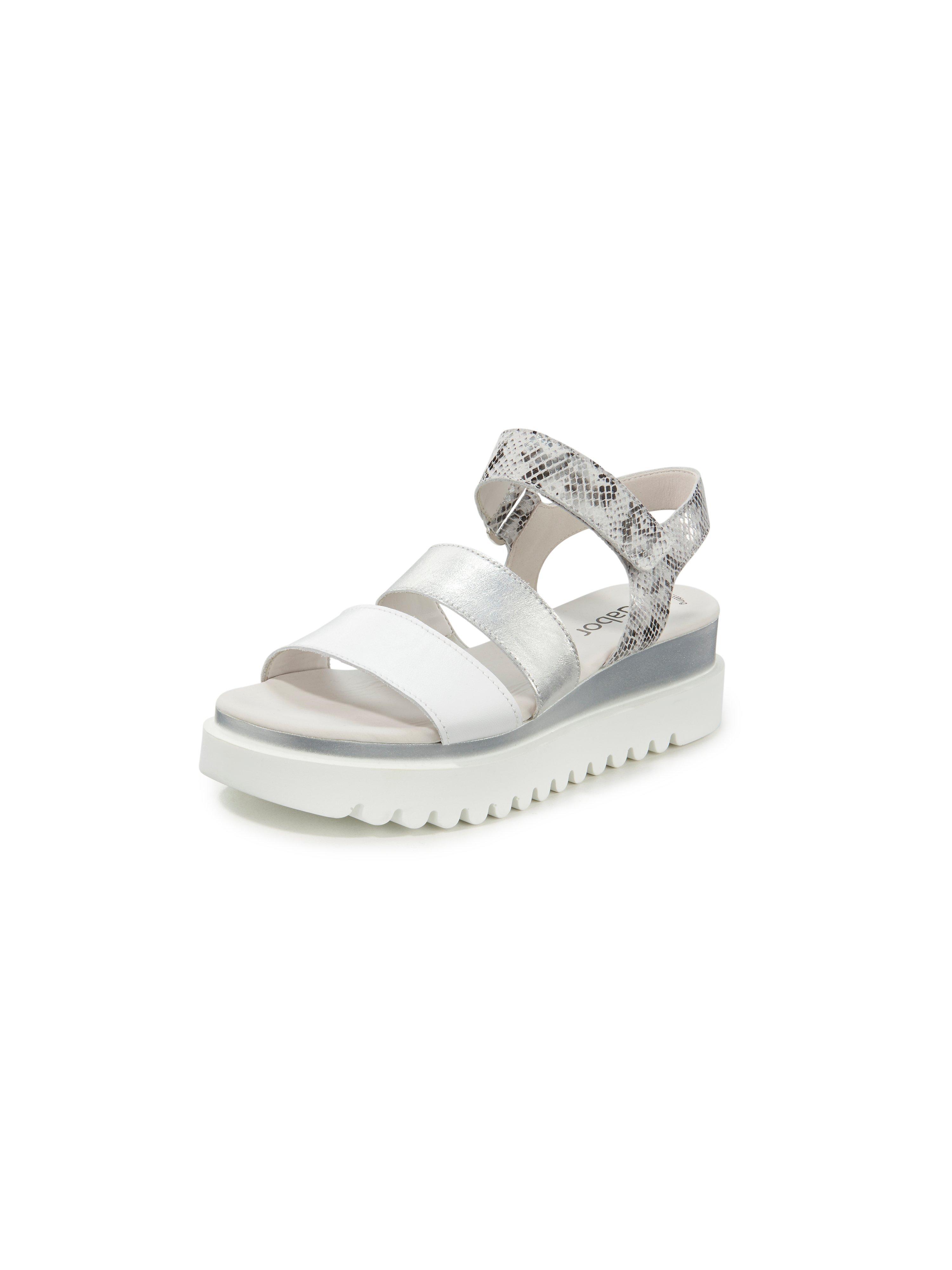 Platform sandals Gabor white