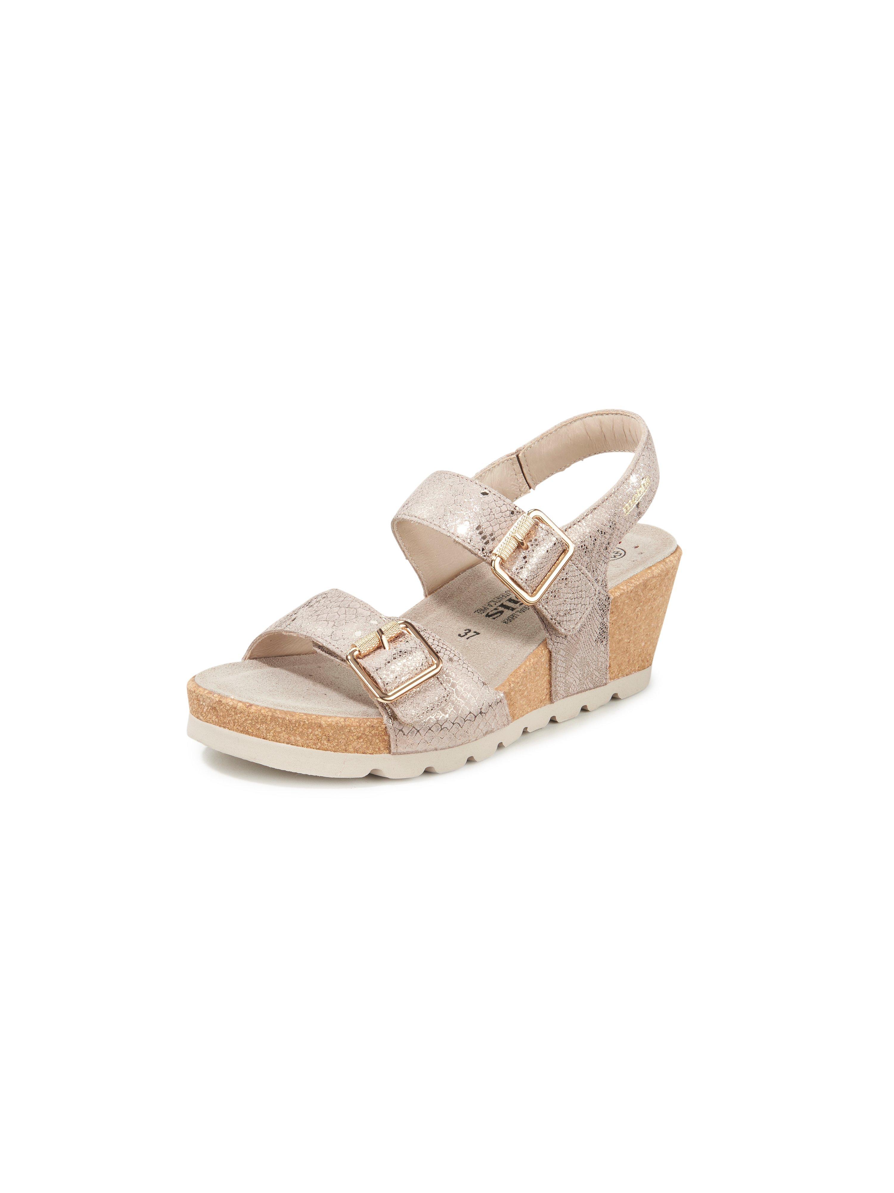 Platform wedge sandals Alyce Mobils gold