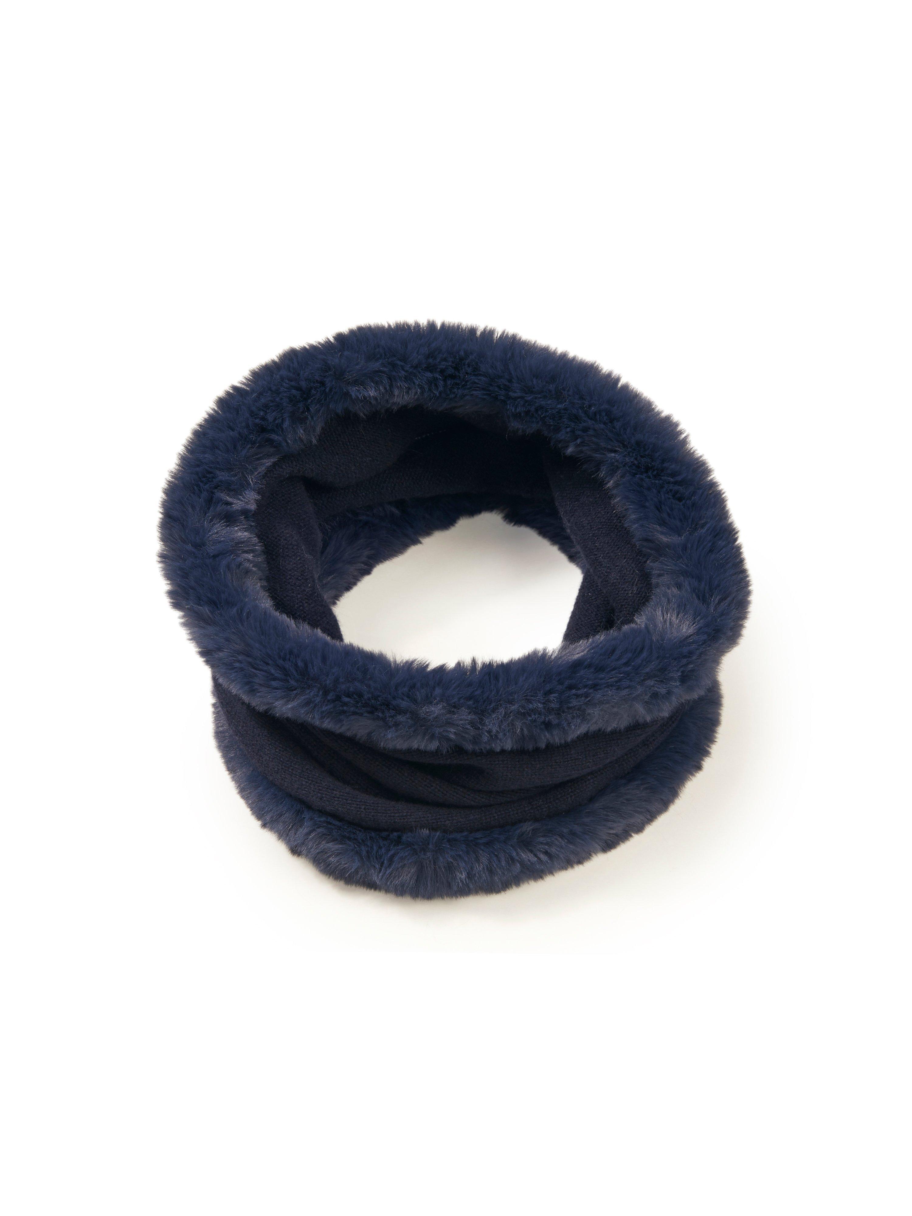 Sjaal 100% kasjmier Van Peter Hahn Cashmere blauw