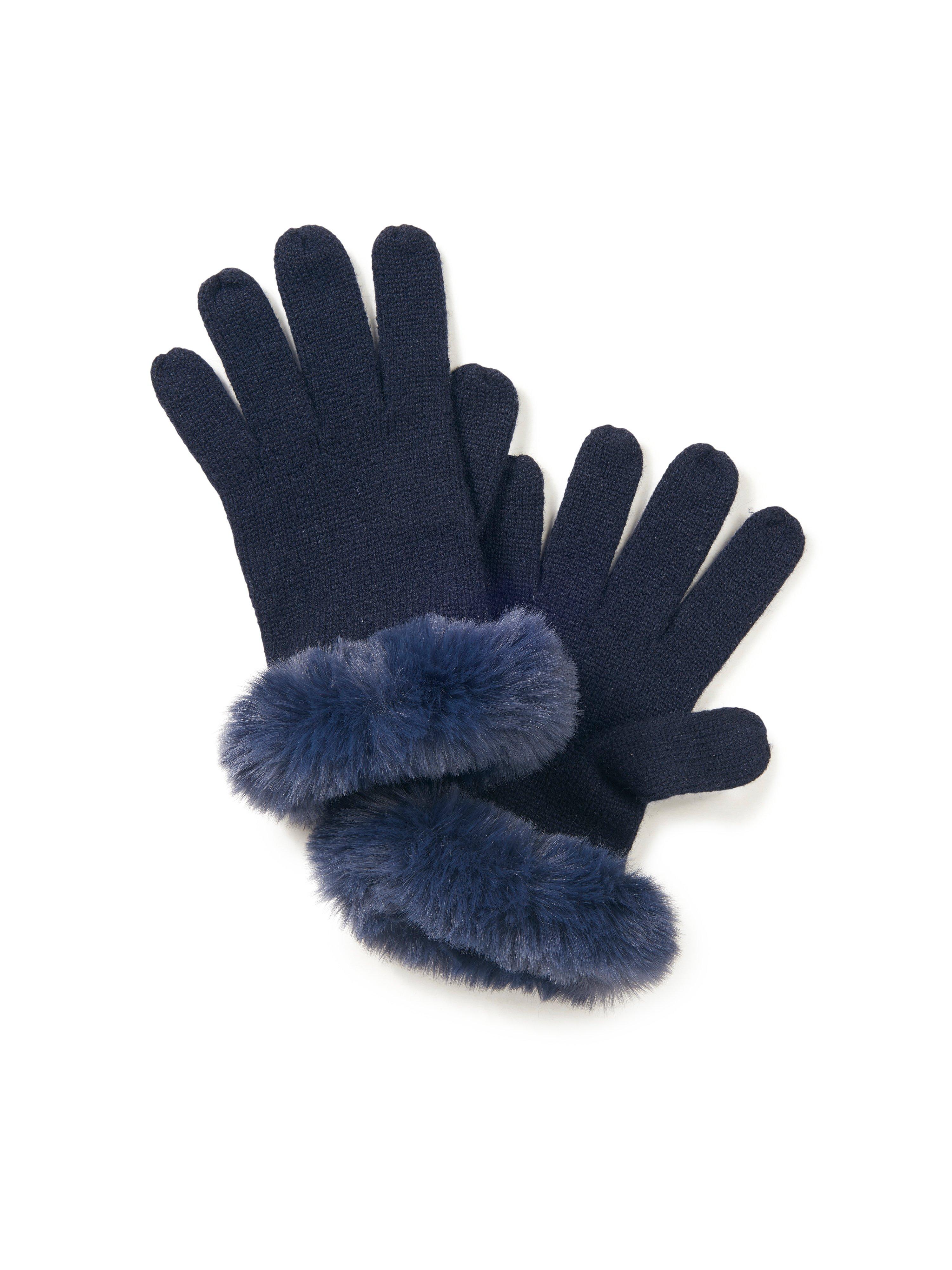 Handschoenen Van Peter Hahn Cashmere blauw