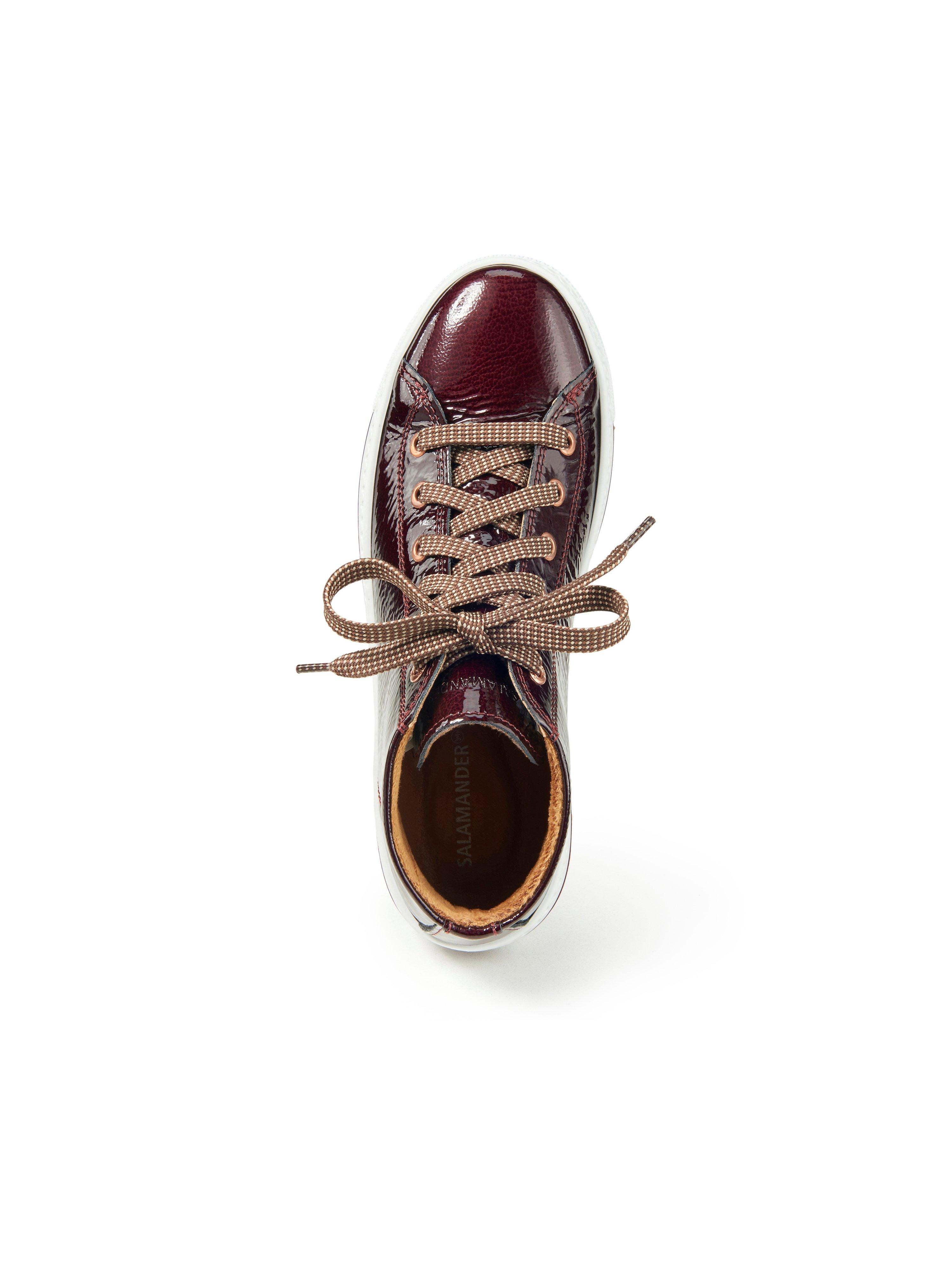 Ankelhøje sneakers Liwana Fra Salamander rød