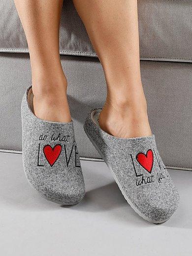 MUBB - Slippers made of wool felt