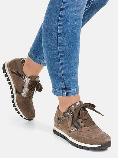 Gabor Comfort - Les sneakers en cuir velours de veau