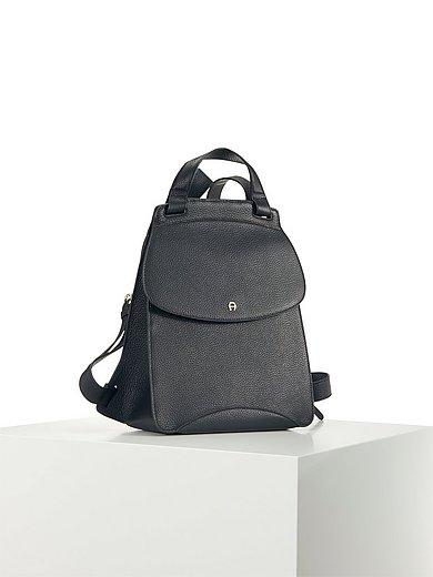 Aigner - Le sac à dos modèle Selma en cuir de vachette