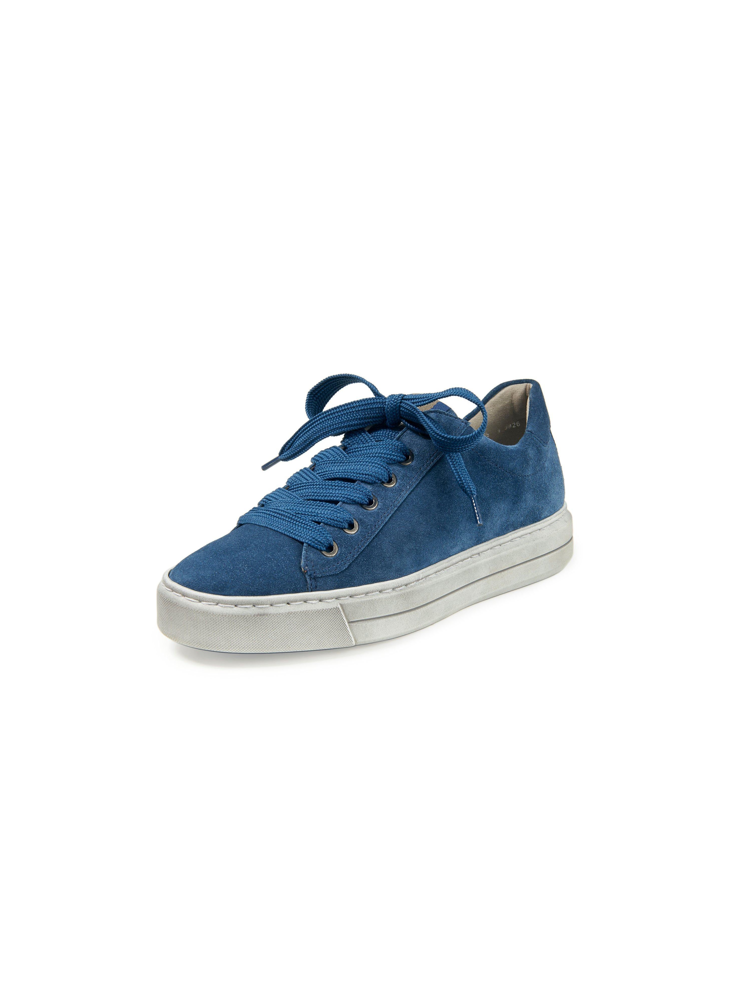 Sneakers Courtyard High Soft kalfsleer Van ARA blauw