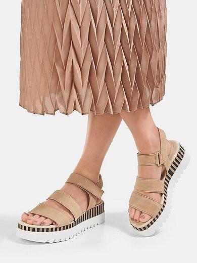 Gabor - Les sandales à semelle plateforme