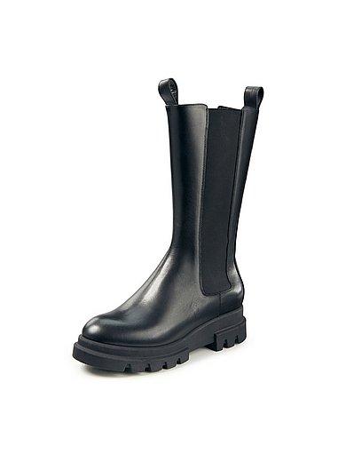 Marc Cain - Les chelsea-boots en cuir nappa de veau ultra doux