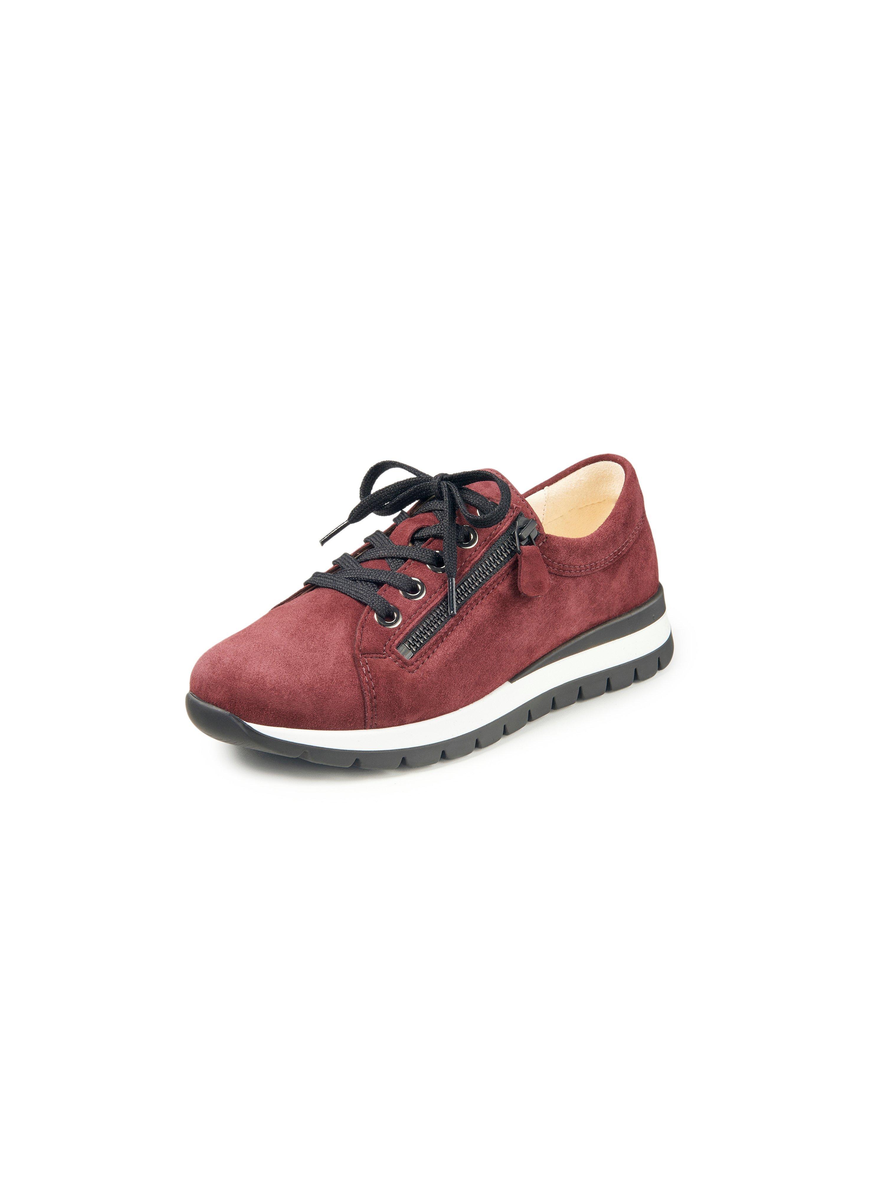 Sneakers geitensuèdeleer Van Christian Dietz rood