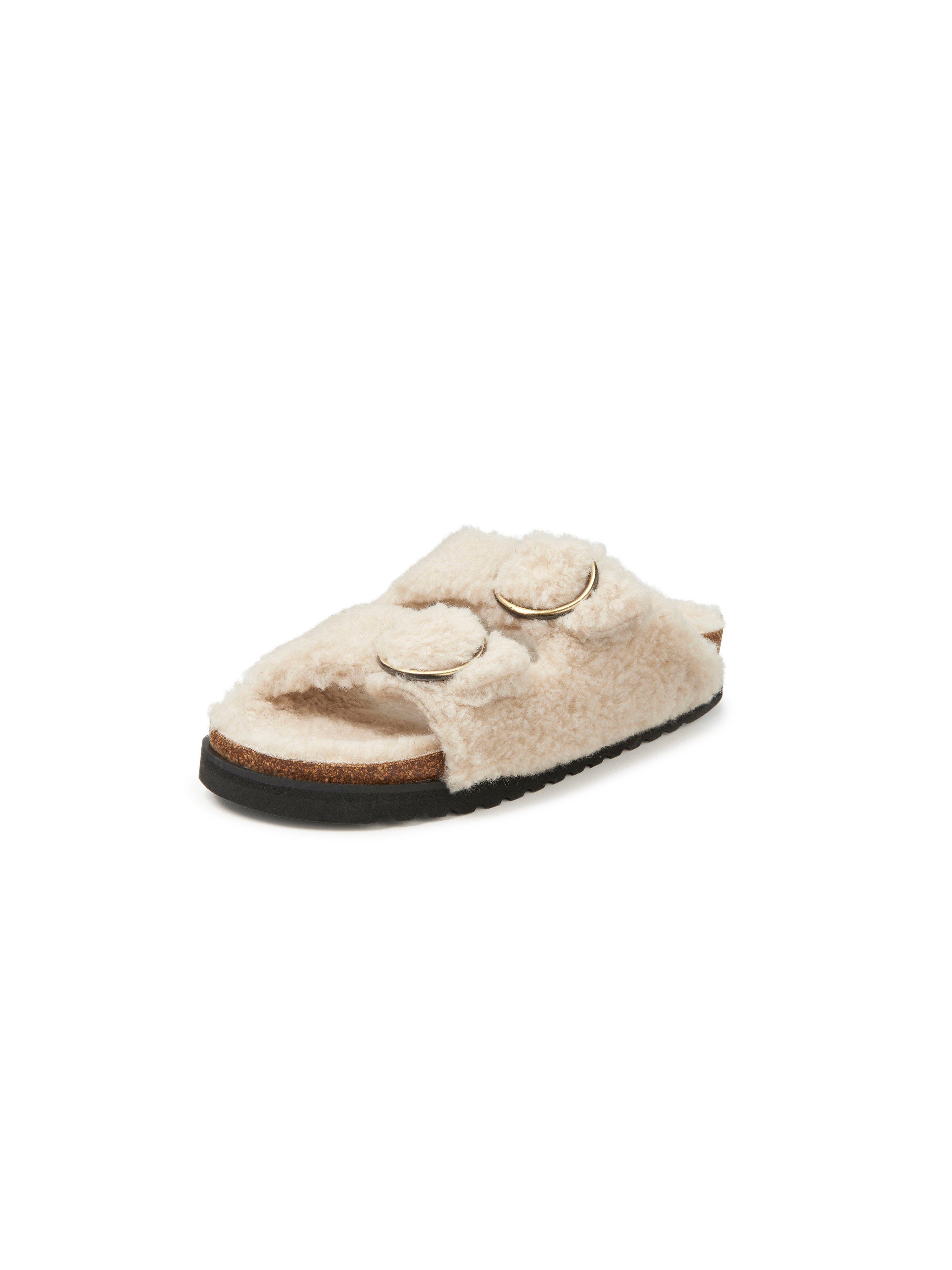Slippers wol Van Gabor home wit