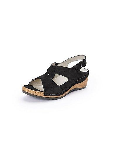 Waldläufer Naisten sandaalit musta