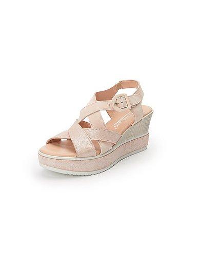 Softwaves Naisten sandaalit vaalea roosa