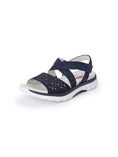 Gabor - Les sandales en cuir à brides, pierres fantaisie
