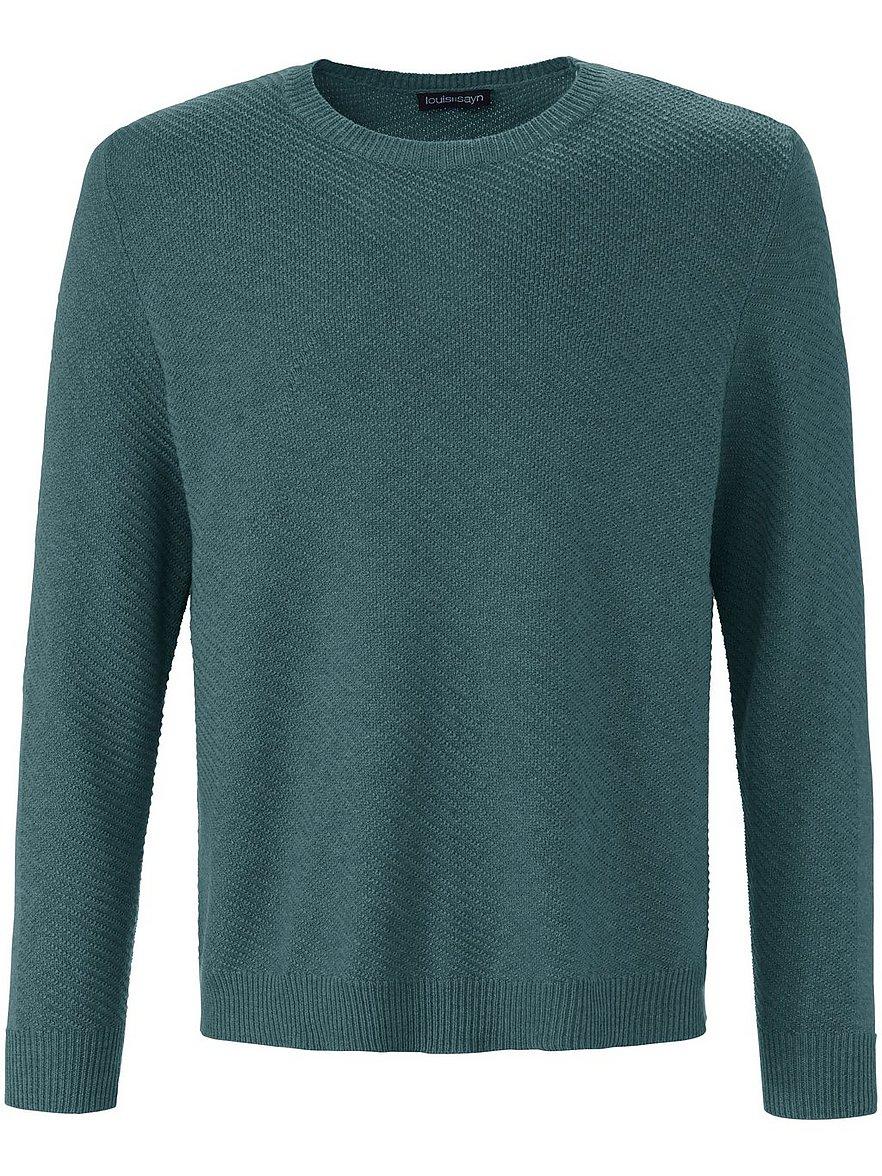 louis sayn - Rundhals-Pullover  grün Größe: 48