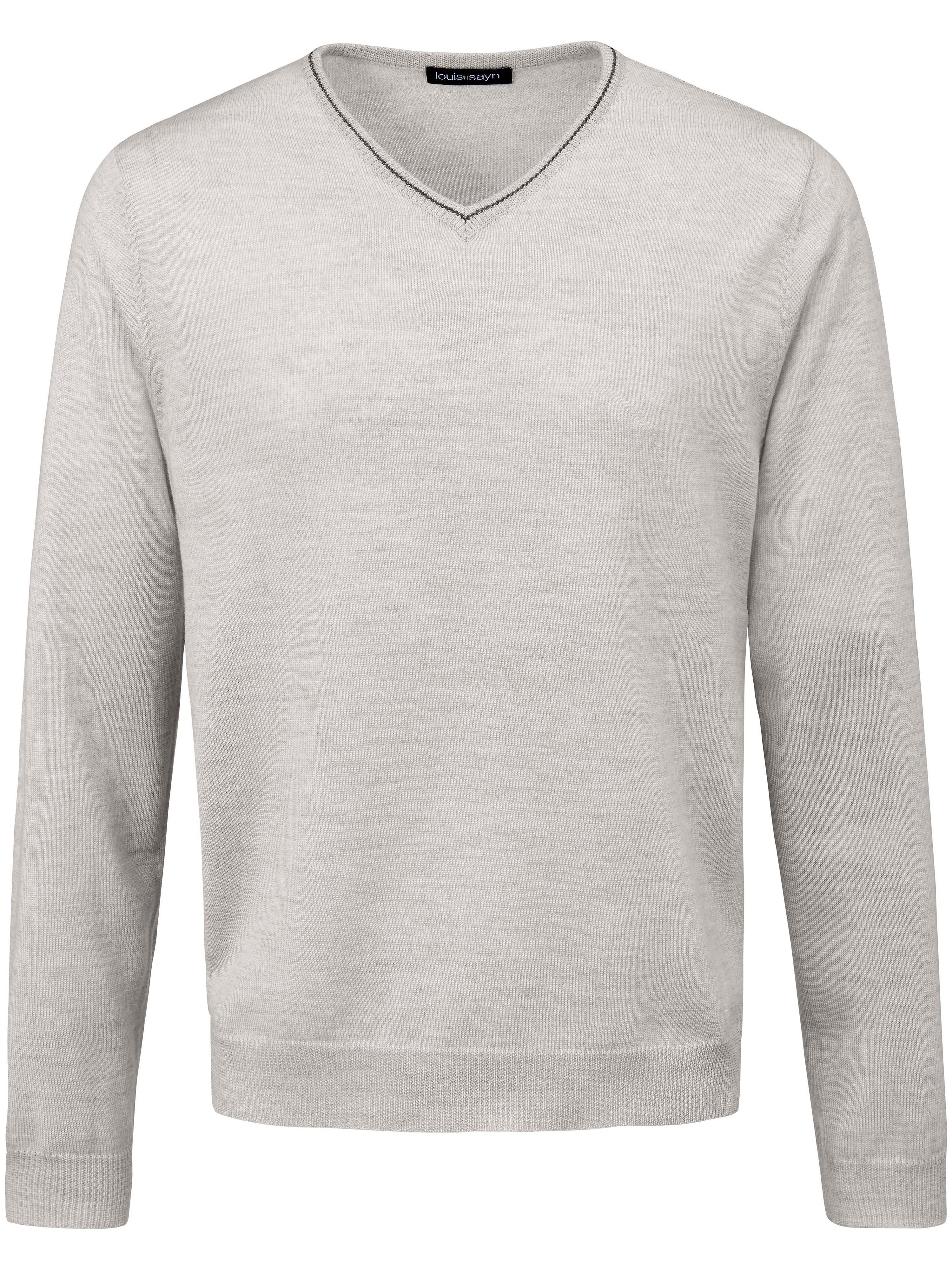 V-Pullover Louis Sayn grau | Bekleidung > Pullover > V-Pullover | Louis Sayn
