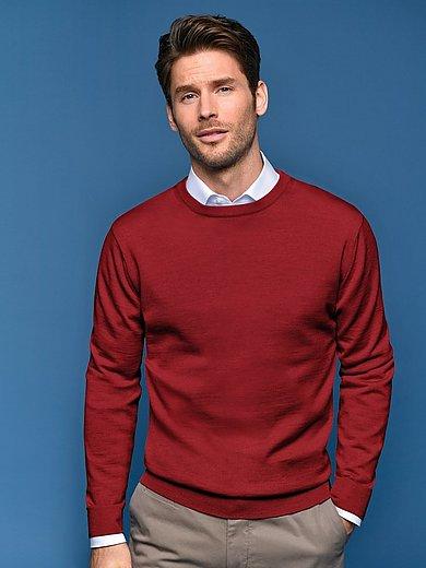 Peter Hahn - Rundhalsad tröja i 100% ren ny ull