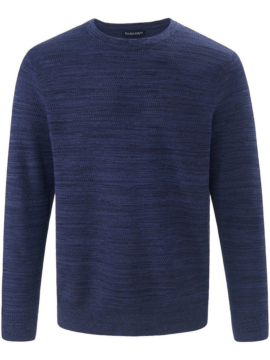 louis sayn - Pullover  blau Größe: 52