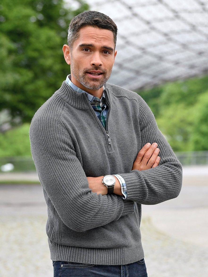 louis sayn - Pullover  grau Größe: 52