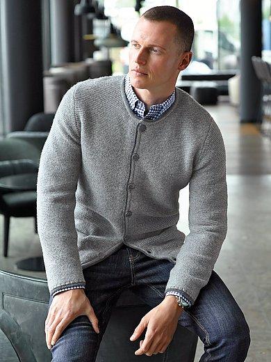 Peter Hahn - Strickjacke aus 100% Schurrwolle