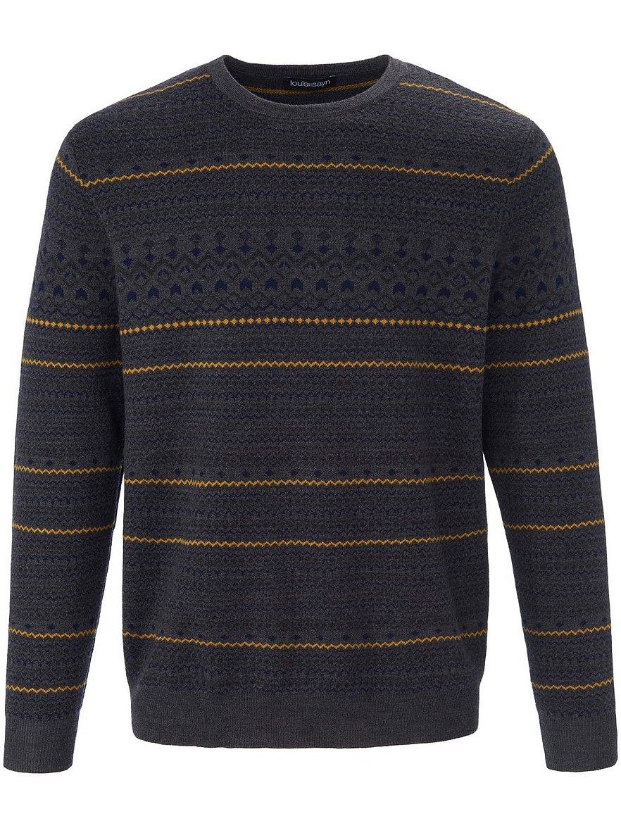 louis sayn - Rundhals-Pullover  grau Größe: 54