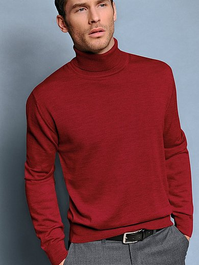 Peter Hahn - Le pull col roulé 100% laine vierge