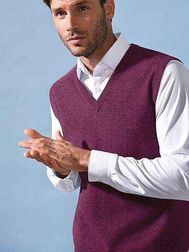 Peter Hahn Cashmere - Slipover i 100% kashmir i Premium-kvalitet, modell