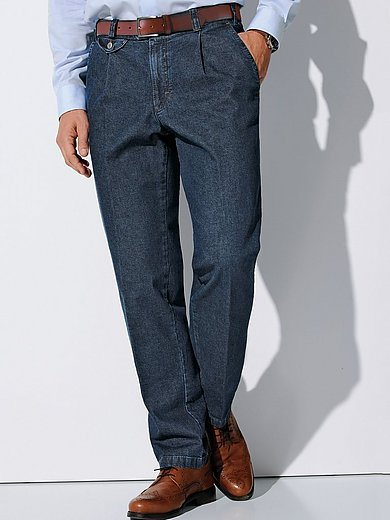 Perfect Cut Bundfalten Jeans Modell Fred