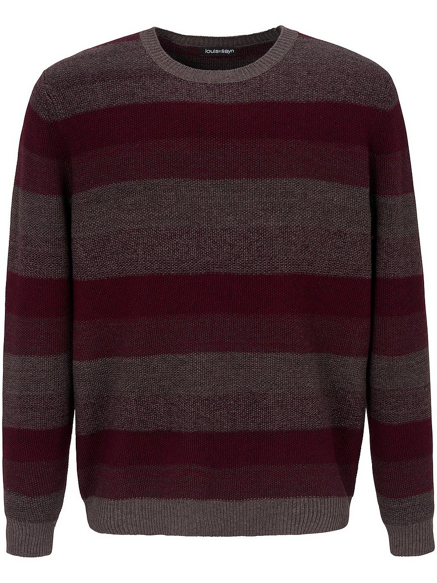 louis sayn - Rundhals-Pullover  rot Größe: 46
