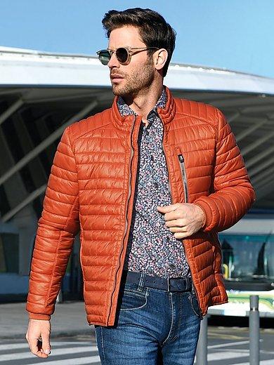 CALAMAR - Gewatteerde jas in bikerstijl