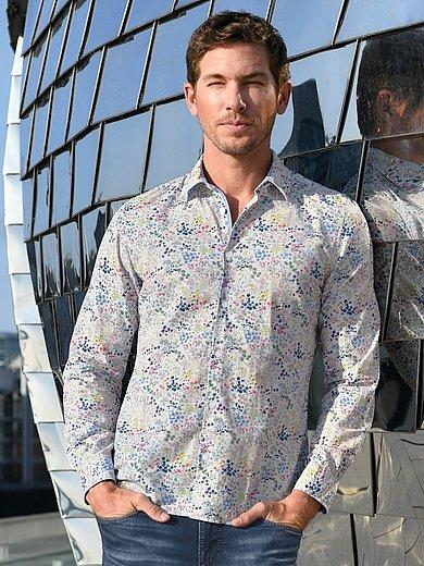 MAERZ Muenchen - Overhemd van 100% katoen met kentkraag