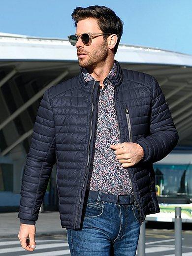 CALAMAR - Quilted jacket with zip-off hood
