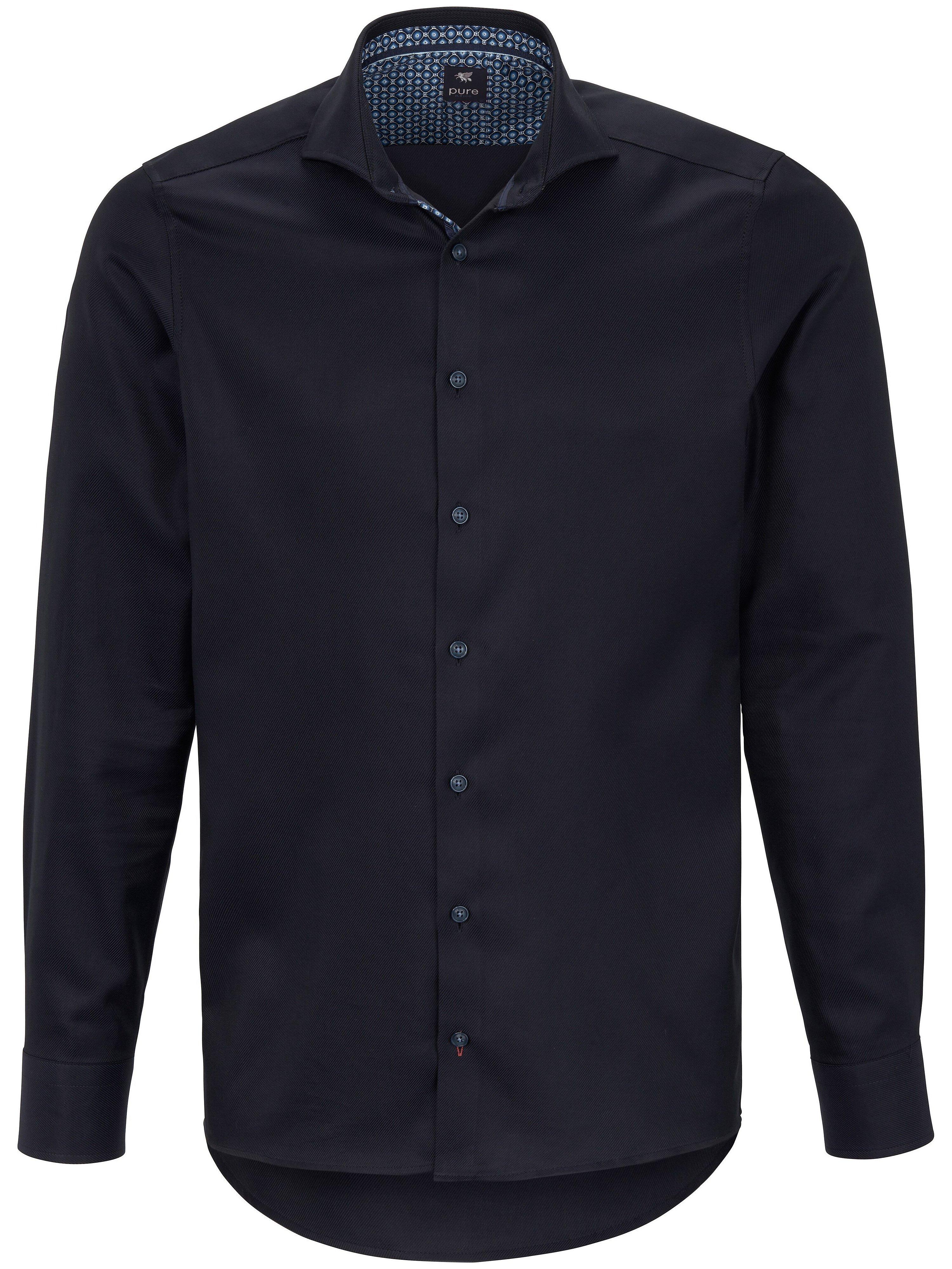 La chemise 100% coton  Pure bleu